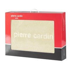 Kremowy WYTŁACZANY KOC MAJA od PIERRE CARDIN 160X240 CM - 160 X 240 cm - kremowy 5