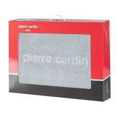 Srebrny WYTŁACZANY KOC MAJA od PIERRE CARDIN 220X240 CM - 220 X 240 cm - popielaty 5