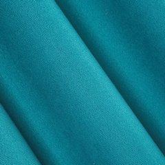 Miękka ZASŁONA strukturalna na przelotkach 140x250 TURKUSOWY - 140x250 - niebieski 2