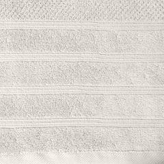 Bawełniany ręcznik kąpielowy frote kremowy 50x90 - 50 X 90 cm - kremowy 9