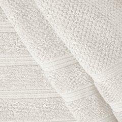 Bawełniany ręcznik kąpielowy frote kremowy 50x90 - 50 X 90 cm - kremowy 5
