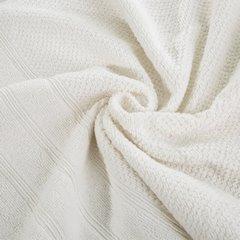 Bawełniany ręcznik kąpielowy frote kremowy 50x90 - 50 X 90 cm - kremowy 6