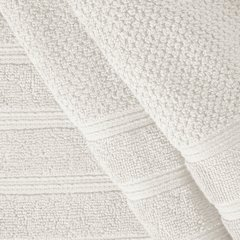 Bawełniany RĘCZNIK kąpielowy frote kremowy 70x140 - 70x140 - kremowy 4