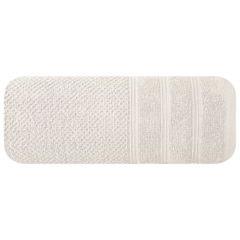 Bawełniany ręcznik kąpielowy frote kremowy 70x140 - 70 X 140 cm - kremowy 3