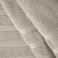 Bawełniany ręcznika kąpielowy frote beżowy 50x90 - 50 X 90 cm - beżowy 4