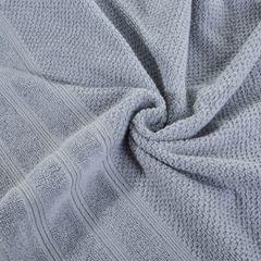Bawełniany ręcznik kąpielowy frote srebrny 50x90 - 50 X 90 cm - srebrny 7