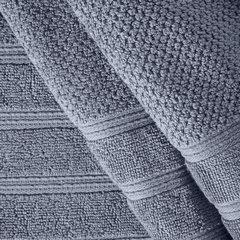 Bawełniany ręcznik kąpielowy frote srebrny 70x140 - 70 X 140 cm - srebrny 5