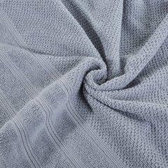 Bawełniany ręcznik kąpielowy frote srebrny 70x140 - 70 X 140 cm - srebrny 6