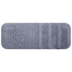 Bawełniany ręcznik kąpielowy frote srebrny 70x140 - 70 X 140 cm - srebrny 3