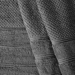 Bawełniany ręcznik kąpielowy frote stalowy 50x90 - 50 X 90 cm - stalowy 5