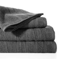 Bawełniany ręcznik kąpielowy frote stalowy 50x90 - 50 X 90 cm - stalowy 2