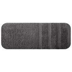Bawełniany ręcznik kąpielowy stalowy szary 70x140 cm - 70 X 140 cm - stalowy 3