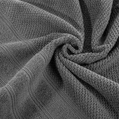 Bawełniany ręcznik kąpielowy stalowy szary 70x140 cm - 70 X 140 cm - stalowy 7