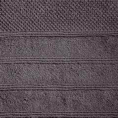 Bawełniany ręcznik kąpielowy frote grafitowy 50x90 - 50 X 90 cm - stalowy 5