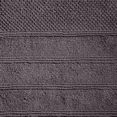 Bawełniany ręcznik kąpielowy frote grafitowy 70x140 - 70 X 140 cm - stalowy 1
