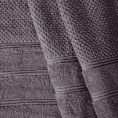 Bawełniany ręcznik kąpielowy frote grafitowy 70x140 - 70 X 140 cm - stalowy 2