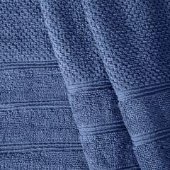 Bawełniany ręcznik kąpielowy frote niebieski 50x90 - 50 X 90 cm - granatowy 4