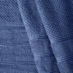 Bawełniany ręcznik kąpielowy frote niebieski 50x90 - 50 X 90 cm - granatowy 5