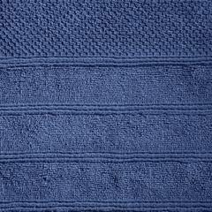 Bawełniany ręcznik kąpielowy frote niebieski 70x140 - 70 X 140 cm - granatowy 9