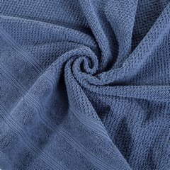 Bawełniany ręcznik kąpielowy frote niebieski 70x140 - 70x140 - niebieski 5