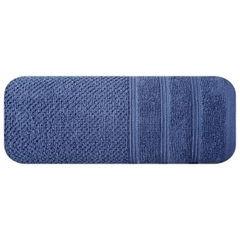 Bawełniany ręcznik kąpielowy frote niebieski 70x140 - 70 X 140 cm - granatowy 3