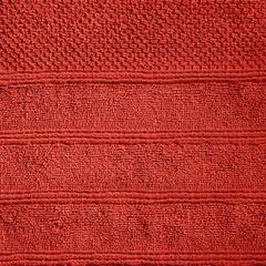 Bawełniany ręcznik kąpielowy frote ceglasty 70x140 - 70 X 140 cm - pomarańczowy 1