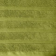 Bawełniany ręcznik kąpielowy frote oliwkowy 50x90 - 50 X 90 cm - oliwkowy 9