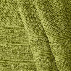 Bawełniany ręcznik kąpielowy frote oliwkowy 50x90 - 50 X 90 cm - oliwkowy 5