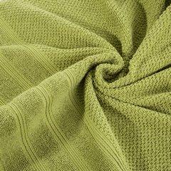 Bawełniany ręcznik kąpielowy frote oliwkowy 50x90 - 50 X 90 cm - oliwkowy 6