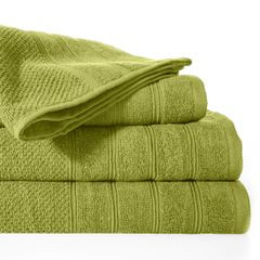 Bawełniany ręcznik kąpielowy frote oliwkowy 50x90 - 50 X 90 cm - oliwkowy 2