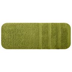 Bawełniany ręcznik kąpielowy frote oliwkowy 70x140 - 70 X 140 cm - oliwkowy 3