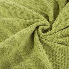 Bawełniany ręcznik kąpielowy frote oliwkowy 70x140 - 70 X 140 cm - oliwkowy 7