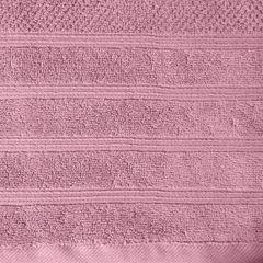 Bawełniany ręcznik kąpielowy frote liliowy 50x90 - 50 X 90 cm - liliowy 5