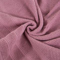 Bawełniany ręcznik kąpielowy frote liliowy 50x90 - 50 X 90 cm - liliowy 7