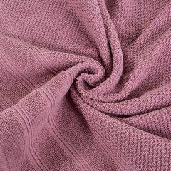 Bawełniany ręcznik kąpielowy frote liliowy 70x140 - 70 X 140 cm - liliowy 6