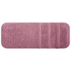 Bawełniany ręcznik kąpielowy frote liliowy 70x140 - 70 X 140 cm - liliowy 3