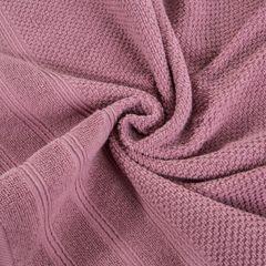 Bawełniany ręcznik kąpielowy frote liliowy 70x140 - 70 X 140 cm - liliowy 7