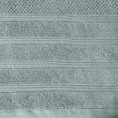 Bawełniany ręcznik kąpielowy frote miętowy 50x90 - 50 X 90 cm - miętowy 9