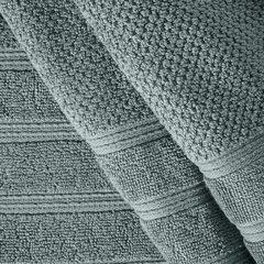 Bawełniany ręcznik kąpielowy frote miętowy 50x90 - 50 X 90 cm - miętowy 5