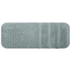 Bawełniany ręcznik kąpielowy frote miętowy 50x90 - 50 X 90 cm - miętowy 3