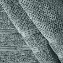 Bawełniany ręcznik kąpielowy frote miętowy 50x90 - 50 X 90 cm - miętowy 6