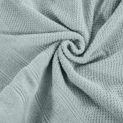 Bawełniany ręcznik kąpielowy frote miętowy 50x90 - 50 X 90 cm - miętowy 7