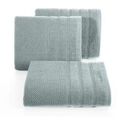 Bawełniany RĘCZNIK kąpielowy frote MIĘTOWY 70x140 - 70x140 - miętowy 3