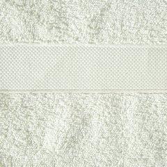 Miękki chłonny ręcznik kąpielowy kremowy 50x90 - 50 X 90 cm - kremowy 3