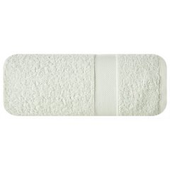 Miękki chłonny ręcznik kąpielowy kremowy 50x90 - 50 X 90 cm - kremowy 2
