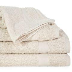 Miękki chłonny ręcznik kąpielowy beżowy 50x90 - 50 X 90 cm - beżowy 1
