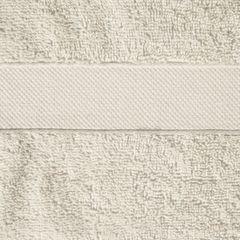 Miękki chłonny ręcznik kąpielowy beżowy 50x90 - 50 X 90 cm - beżowy 7
