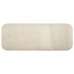 Miękki chłonny ręcznik kąpielowy beżowy 50x90 - 50 X 90 cm - beżowy 2