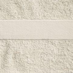 Miękki chłonny ręcznik kąpielowy beżowy 50x90 - 50 X 90 cm - beżowy 4