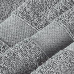 Miękki chłonny ręcznik kąpielowy stalowy 50x90 - 50x90 - szary 4